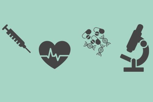 Illustration medical icons